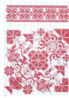 Cross Stitch and Sampler Books for Sale - A Folio of Motifs and Complete Patterns in Folk Art Style - xstitches - Picasa Webalbums