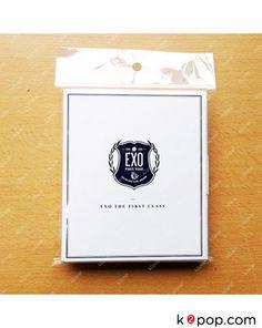 K2POP - SMTOWN POP-UP STORE EXO OFFICIAL GOODS - EXO POLAROID SET VER.2 (WHITE)