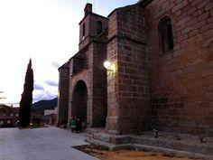 Desde Pelayos de la Presa: Iglesia en Cenicientos