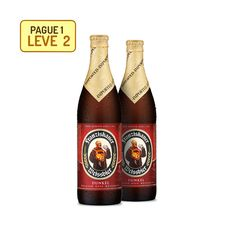 Outras [Empório da Cerveja] Kit Franziskaner Hefe Weissbier Dunkel - Na Compra de 1, Leve 2 - R$14,99