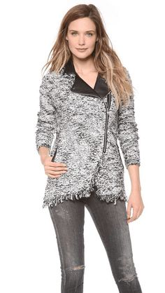 Ella Moss Patti Sweater Jacket on Wantering | Tweed | womens tweed sweater jacket #womensstyle #womenstweedsweaterjacket #womenssweaterjacket #womenssweater #womensjacket #womenswear #womensstyle #womensfashion #style #fashion #GIF #gif #gifs #fashiongifs #ellamoss #wantering http://www.wantering.com/womens-clothing-item/patti-sweater-jacket/afzVt/