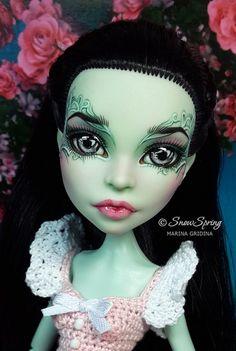 Scarah Repaint by Marina Gridina / SnowSpring Dolls (vk.com/snowspring.dolls)