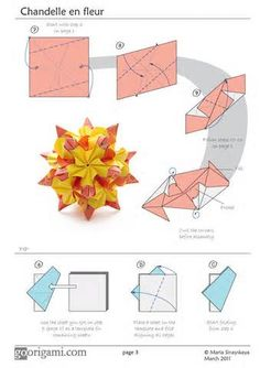 modular origami curler diagrams - - Yahoo Image Search Results