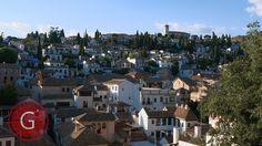 GRANADA | ALBAICÍN | Parte del Albaicín. Mirador de San Nicolás. Huerto del Loro.