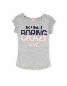 Bershka Hungary -BSK message T-shirt. Hahaha so true. Shirt Print Design, Shirt Designs, Cute Shirts, Shirts For Girls, Graphic Shirts, Printed Shirts, Love Slogan, Girl Outfits, Cute Outfits