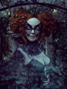 Natalie Shau Digital art and photography meet at the gothic work of this worldwide renowned artist. Boris Vallejo, Art Goth, Arte Lowbrow, 3 Gif, Comic, Montage Photo, Animation, Weird Creatures, Pop Surrealism
