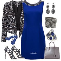 """kingsblue"" by gaitriesharda on Polyvore"