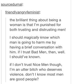 "Previous Pinner: ""And the sad thing is women make those kinds of attacks to other women as well. :-/ """