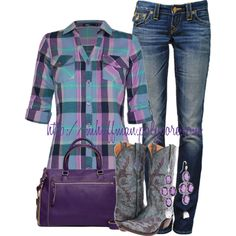 A fashion look from January 2013 featuring Dash tops, True Religion jeans and Lucchese boots. Browse and shop related looks.