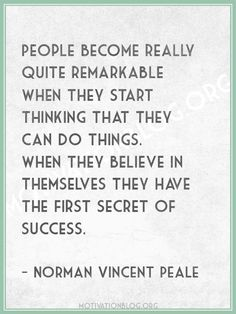 Inspirational Quote: Motivational quotes and posters |   Norman Vincent Peale quote