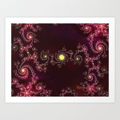 Pinpoints of Light Art Print by Mystic Fractals - $17.68