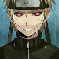 Anime/manga: Naruto (Shippuden) Character: Dark Naruto, sorta reminds me of Hollow Ichigo.