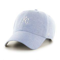 Kansas City Royals Monument Salute Clean Up Periwinkle 47 Brand Adjustable Hat