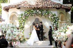 AN INTERTWINED EVENT: CHARMING PINK WEDDING AT RANCHO LAS LOMAS | Intertwined Weddings & Events | Gavin Wade Photography  OC Wedding, I Do, Newlyweds, Bride and Groom
