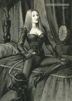 Artist isis femdom art