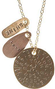 ShopStyle: Aurora Lopez Charm Necklace