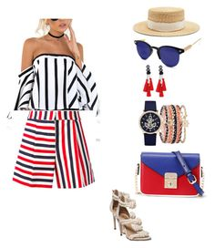 """Cruise"" by irina-sergeeva-1 on Polyvore featuring Thom Browne, Filù Hats, WithChic, A.X.N.Y. and Spitfire"
