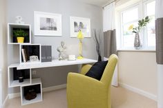 Home office in The Canterbury at Buckby Meadows in Long Buckby | Bovis Homes