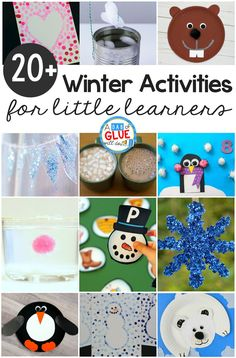 Name Activities, Counting Activities, Winter Activities, Kindergarten Activities, Activities For Kids, Winter Crafts For Toddlers, Toddler Crafts, Preschool Winter, Project Based Learning