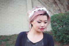 bridal headpiece, rustic wedding flower, bridal hair headpiece, woodland wedding on Etsy by Serenity Crystal Shop