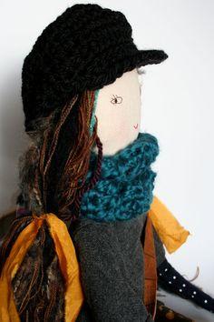 rag doll cloth doll handmade / humbletoys