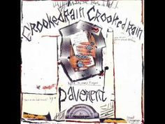 "The classic indie rock album ""Crooked Rain Crooked Rain"" by Pavement. Jeff Buckley, Magic Bands, Vinyl Lp, Vinyl Records, Green Day, Jon Spencer Blues Explosion, Rock Bands, Pochette Cd, Books"