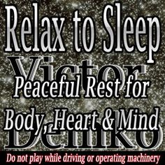 http://www.prlog.org/12221607-new-audio-helps-restless-relax-to-sleep.html A new audio resource to help sleepless people relax to sleep has been released. The audio soundscape is designed to help listeners with peaceful rest that allows sleep.