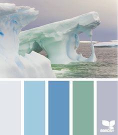iced tones...pale greys, greens, blues and purples!!! they look nice together and could be summery as well! The grey-ish purple or light sage green could be nice for the bridesmaids with the blue hues and greens in the flowers?