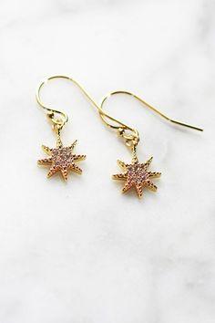 STARBRITE DROP EARRINGS - Christine Elizabeth Jewelry™
