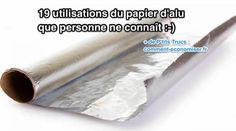 Le papier d'alu ne sert pas qu'à emballer vos restes ! Il a plein d'utilisations que personne ne connaît. Et nombreuses sont celles qui ne sont pas liées à la cuisine. Après avoir découvert t...
