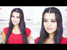 Helen Örgü Saç Modeli - Bayrama Özel Saç Modeli - YouTube