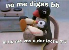 Memes En Espanol Para Responder Amor New Ideas Meme Faces, Funny Faces, Best Memes, Dankest Memes, Pingu Memes, Romantic Memes, Memes Lindos, Funny Spanish Memes, Cute Love Memes