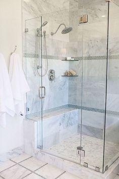80 stunning tile shower designs ideas for bathroom remodel (26)