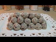 Σοκολατένια τρουφάκια με ταχίνι ! (Νηστίσιμα) - YouTube
