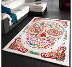 PHC Designer Carpet Modern Multicolour Tattoo Style Mexican Skull Rug Top Quality, Size:160x230 cm This rug have been designed as a work of art. The results speak for themselves - at first glance you wouldnt think that these brightly coloured masterpieces are (Barcode EAN = 4250857524983) http://www.comparestoreprices.co.uk/carpets-and-rugs/phc-designer-carpet-modern-multicolour-tattoo-style-mexican-skull-rug-top-quality-size160x230-cm.asp
