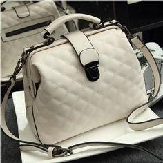 Women HandBags Genuine Leather Messenger Bags Luxury Lattice Classical Shoulder Bags