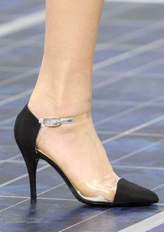 The Spring 2013 Accessories Report - See It Through - Chanel