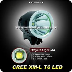 1PC T6 Bicycle Light HeadLight 1600 Lumens 3 Mode Waterproof Bike Front Light LED HeadLamp 8.4v 6400mAh Battery Pack Charger on AliExpress.com. 25% off $33.74