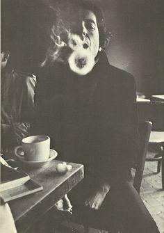 Leonard Cohen & coffee
