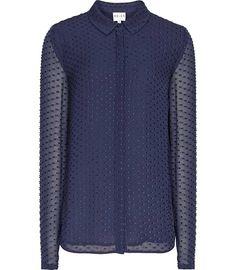 Chiffon sleeve  blouse