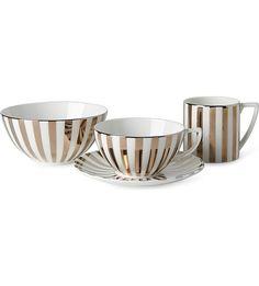 JASPER CONRAN @ WEDGWOOD Platinum Striped range