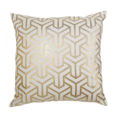 Gold Hong Kong Pillow