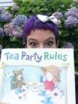 Celebrate Ame Dyckman and Tea Party Rules #titletalk #kidlit #authors