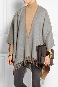 Camel and gray merino wool 100% merino wool Dry clean