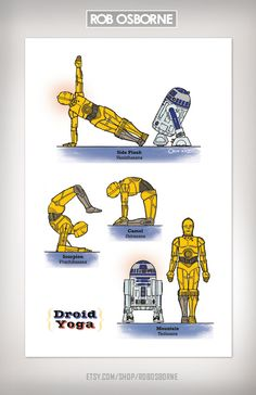 Please note R2's great form in side plank.
