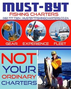 Not your ordinary charters   Must Byt Fishing Adventure, Fishing Charters, Deep Sea Fishing, Big Fish, Things To Know, Hanging Out, Competition, Loyalty, Boats