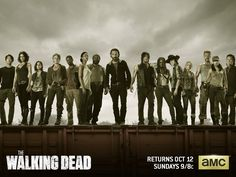 Walking Dead season 5. Never missed an episode since Season 1.