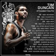 Thank You Tim Duncan