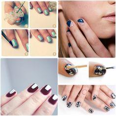 Nail arts (super) fáceis de fazer - Moda it