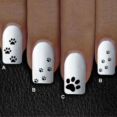 / bag Ballerina Nail Art Tips Transparent / Natural False Coffin Nails Art Tips Flat Shape Full Cover Manicure Fake - Dog Nail Art, Animal Nail Art, Dog Nails, Coffin Nails, Fancy Nails, Pink Nails, Cute Nails, Trendy Nail Art, Stylish Nails